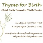 thyme for birth